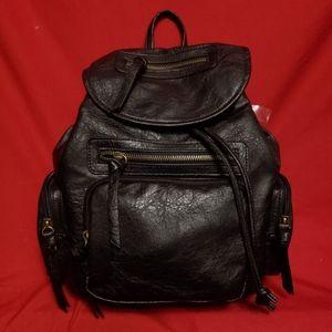 Handbags - Black Faux leather mini backpack